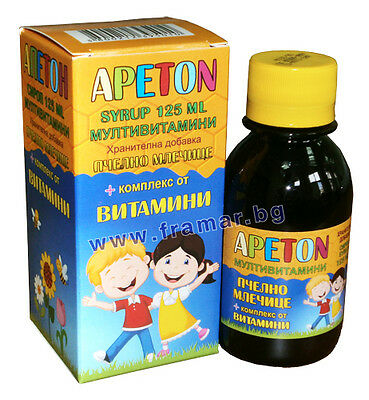 Appeton appetite booster syrup multivitamin for kids with royal jelly immuno