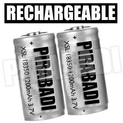 BATTERIE RECHARGEABLE PILE ACCUS AW IMR 18350 1200mAh 3,7V li-ion PUISSANT