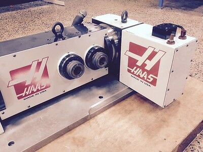 Haas T5C2 CNC 4th&5th Axis Rotary Table Indexer 5C Collet Closer