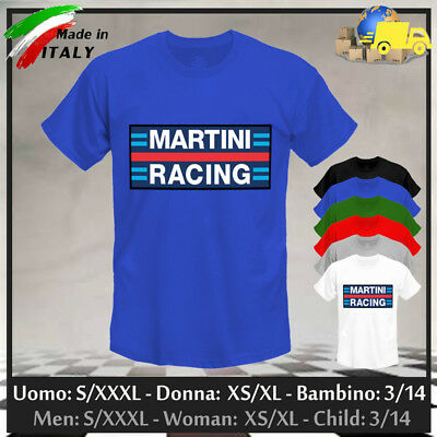 """T-shirt """"MARTINI RACING"""", Limited Edition Gulf GP Cup Rally Steve, Collez 2019!"""
