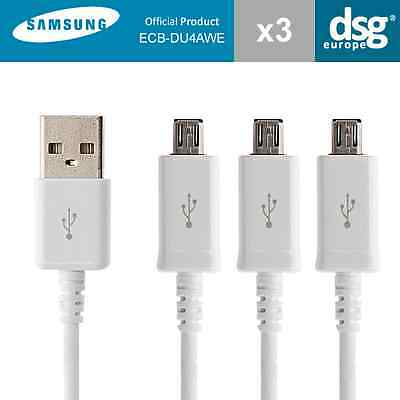 3 PACK SAMSUNG MICRO USB CHARGING DATA CABLE FOR GALAXY S3 S4 S6 S7 Edge Note