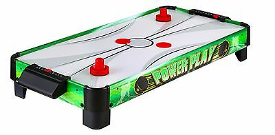 Hathaway Air Hockey Power Play Tabletop Composite Table Pucks Pushers Puck Game