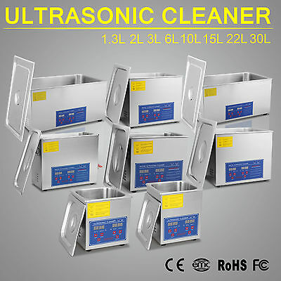 1.3L-6L-30L Ultrasonic Ultraschallreinigungsgerät Ultraschall Cleaner Reiniger