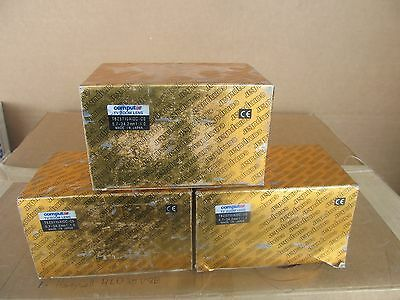 LOT of 3  Computar TV Zoom Lens T6Z5710AIDC-CS  5.7- 34.2 mm 1:1.0
