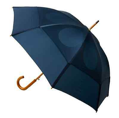 Lightweight Strong Classic 48-Inch Automatic Golf Umbrella (Navy) New