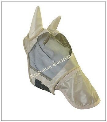 Fly Mask - Removable Nose Piece