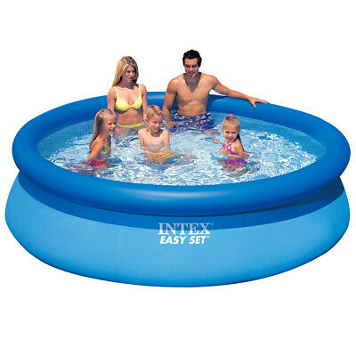 INTEX Swim Center Family Swimming Pool Planschbecken 305x183cm Blau