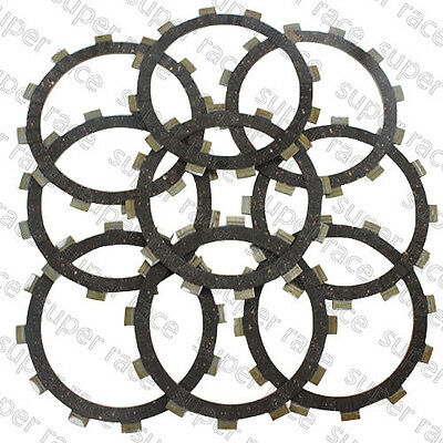 New 9PCS Clutch Friction Plate Kits Set For Yamaha YZF600 R6 2006-2012 2007 2008