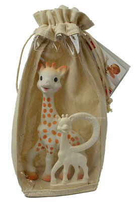 SOPHIE THE GIRAFFE SET Teether First Set Chew Ring by Vulli Gift