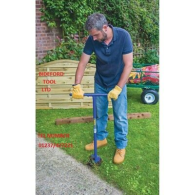 """DRAPER 82846 TOP QUALITY 4"""" FENCE POST AUGER POST HOLE DIGGER 4"""" dia ONLY £12.61"""