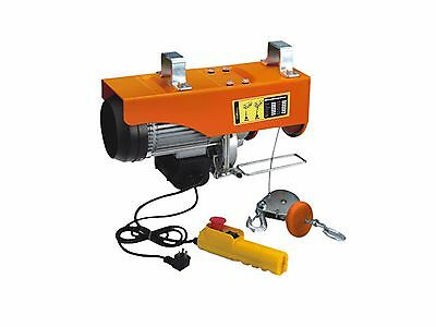 Prowinch 2200 lbs. Electric Rope Hoist 110~120V 60HZ w/ Emergency Stop