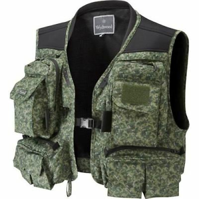 Wychwood Game Short Fly Vest Green