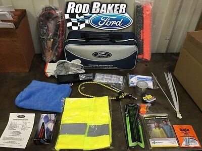 Ford Factory Emergency Roadside Assistance Kit - Tools, Safety Gear Escape 09-16