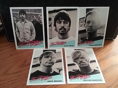 Foo Fighters  Promotional Card Set 2003 Roswell Records