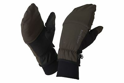 Seal Skins Outdoor Sports Mittens Olive