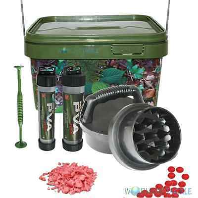 Boilie Grinder Krusha with Handles + PVA Mesh and 5l Bucket Carp Fishing Crusher