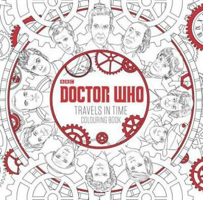 Doctor Who - Travels in Time Colouring Book  3171