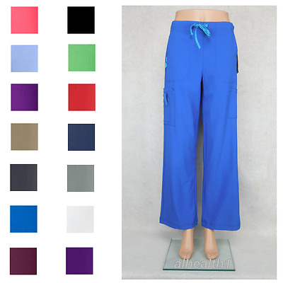 Carhartt Womens Cross Flex C52110 Nurse Utility Scrub Pant 14 Colors Free Ship
