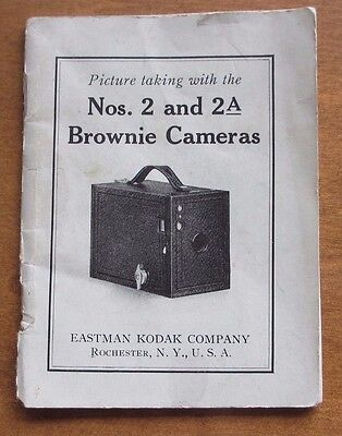 Brownie Camera Nos. 2 and 2A Owner's Manual