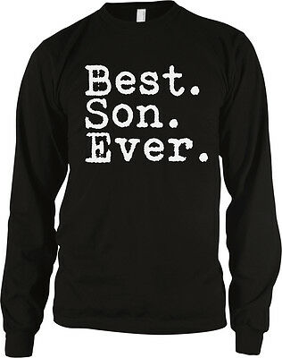 Best. Son. Ever. Child Kid Family Parent Proud Love Mom Dad Bond Men's Thermal