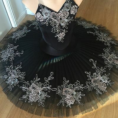 Classical Ballet tutu professionally made OOAK - Black - Ladies Size:6