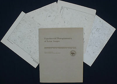 USGS APOLLO 15 16 17 PHOTOGRAMMETRY 1980 Mission Details, Research ALL 4 MAPS!