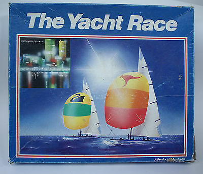 Vintage  Retro Yacht Race Board Game