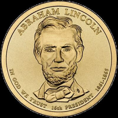 "2010 P Abraham Lincoln Presidential Dollar ""Brilliant Uncirculated"" Coin US Mint"