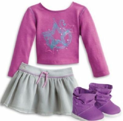 American Girl Shimmer Doodle Outfit BNIB