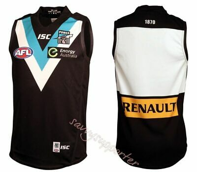 Port Adelaide Power AFL Showdown Home Guernsey Jumper 'Select Size' S-7XL