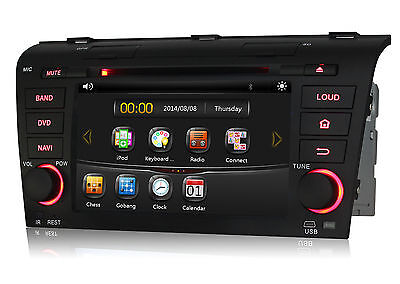 Touchscreen Car Stereo DVD GPS Navi BT For Mazda 3 2004 2005 2006 2007 2008 2009