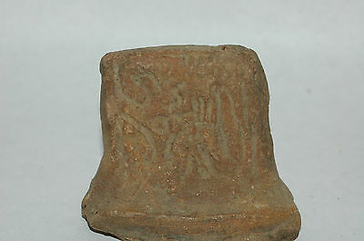 Pre-Columbian Mayan Vessel Fragment Central Mexico CAA-59
