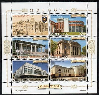 Moldova MNH 2011 The 575th Anniversary of Kishinev M/S
