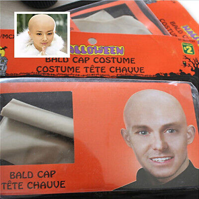 Funny Skinhead film  Bald Head Fake latex Skin Unisex Party Dress  The New Fancy