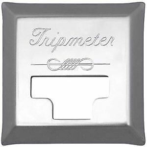 Peterbilt Chrome Tripmeter Engraved Cover