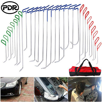 Super PDR Tools Whale Tails 30pcs Auto Body Paintless Dent Removal Repair Hail