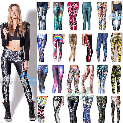 Women Sexy Skinny Jeggings Stretchy Pants Leggings Pencil Tight Yoga Trousers