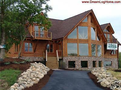 The Fort Miami Log Cabin Home Kit 45 500 00 Picclick