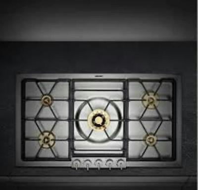 """GAGGENAU VG295214CA 36"""" Gas Cooktop STAINLESS STEEL SMALL FLAWS"""