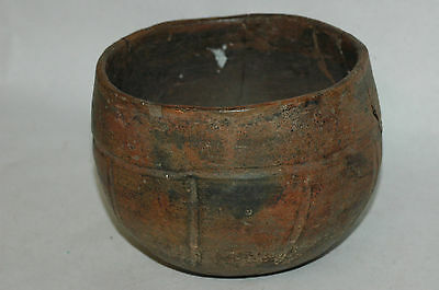 Pre-Columbian Olmec incised Bowl CAA-76