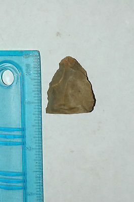 Archaic Native American FLINT Stone Arrow point frag WimberleyTexas NAA-79