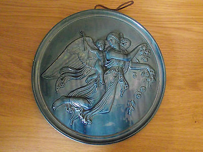 Beautiful Antique Plaque - Morning With Her Child