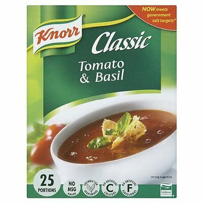 Knorr Classic Tomato & Basil Soup Mix 25 Portions 425g