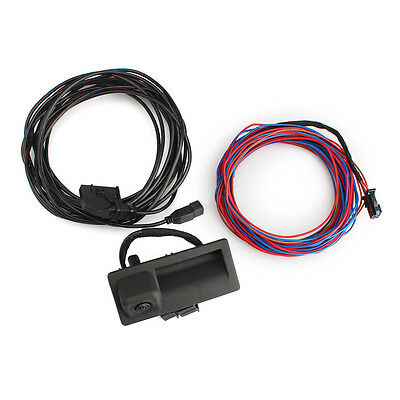OEM Monitor Parking RVC Rear View Camera Cable Kit for VW RNS315 RCD510 RNS510