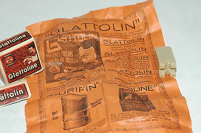 1909 Glattolin Collar Chaffin Preventative With Original Contents Made Germany