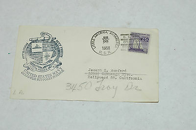 USA 1958 TASK FORCE 43 OPERATION DEEP FREEZE NAVAL COVER Cover