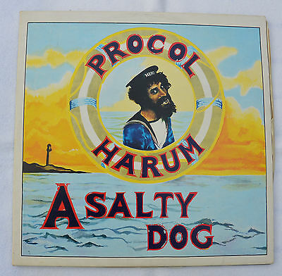 PROCOL HARUM: A Salty Dog/A Whiter Shade of Pale (TOOFA 7/1/2) Doppel-LP