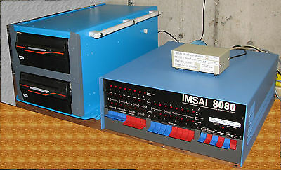 IMSAI 8080 S100 Bus Vintage Computer with CP/M 2.2 & BlueTooth Interface