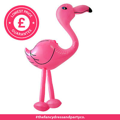 x6 Inflatable Pink Flamingo 64CM Great Fun for  Kids Pool Beach Hen Parties