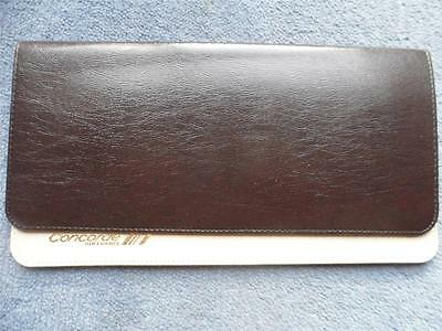 Air France Concorde Leatherette Ticket Wallet 1970's Rare